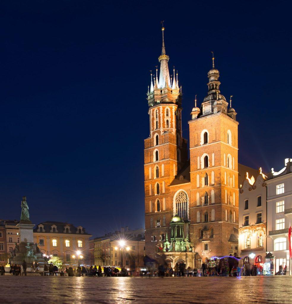 Visitare Cracovia cominciando dalla Basilica di Santa Maria