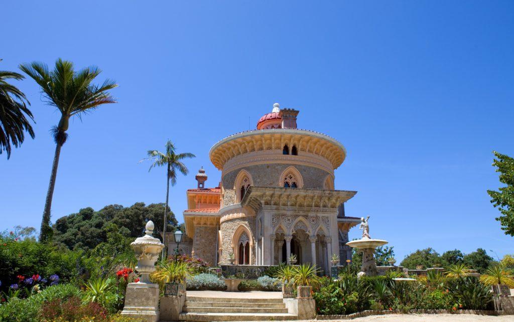 Palazzo di Monserrante, monumenti in Portogallo da visitare