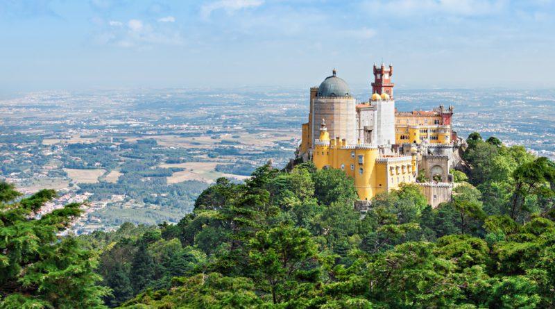 Sintra, città del Portogallo