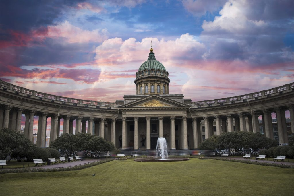 Cattedrale di Kazan, tra i monumenti importanti di San Pietroburgo