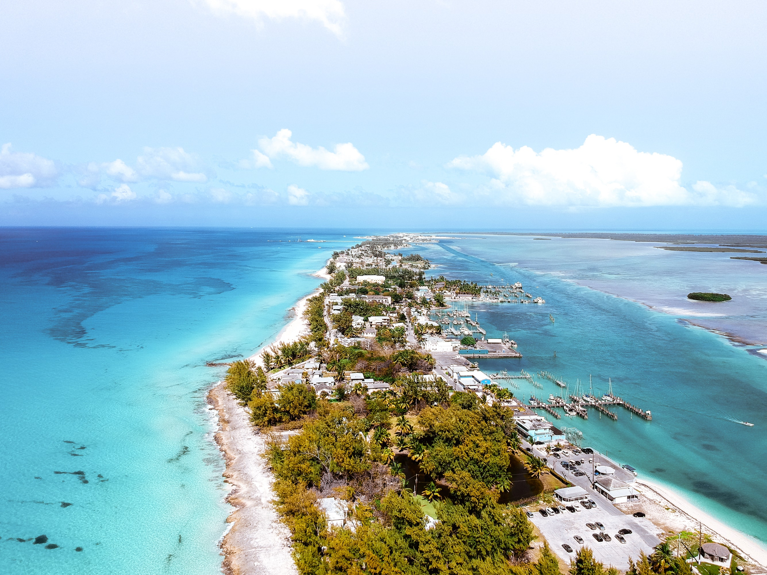 Bahamas, nell'Arcipelago Indiano