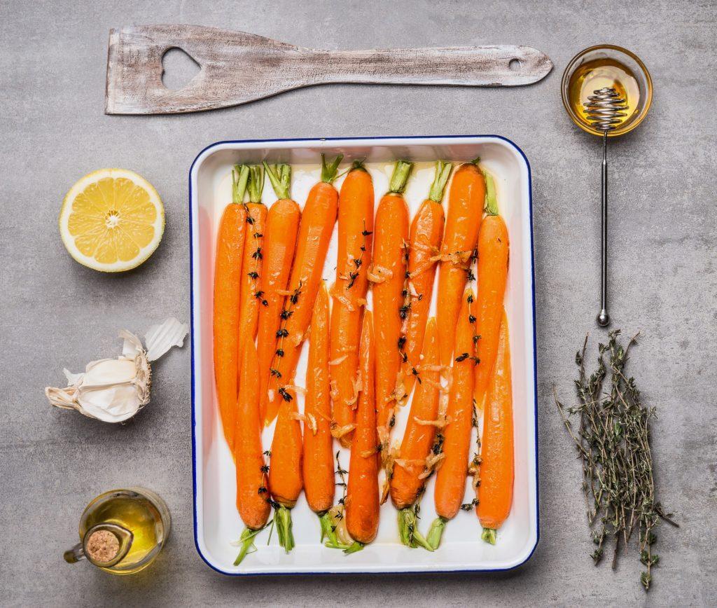 Ricetta di carote al forno