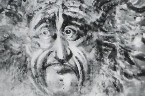 La villa della Gaiola di Napoli conteneva il dipinto di un Gorgone che venne coperto e murato
