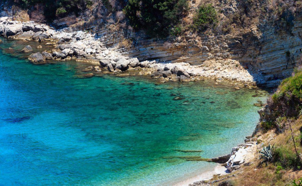 Spiaggia del Monastero in Saranda per vacanze in Albania